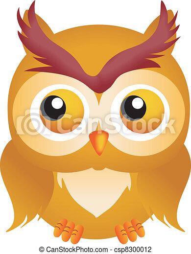 Halloween Owl - csp8300012