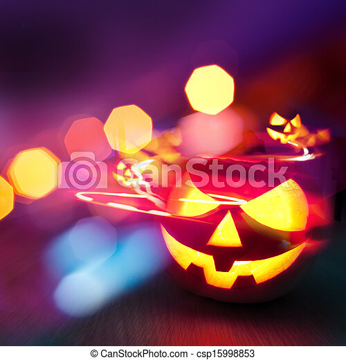 Halloween Party - csp15998853
