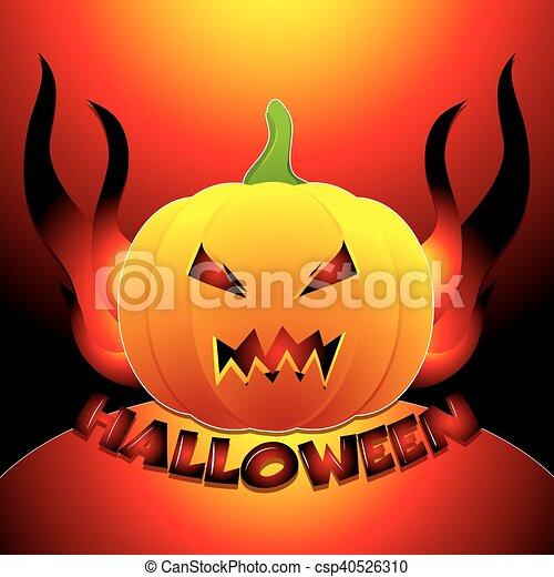 Antecedentes de Halloween - csp40526310