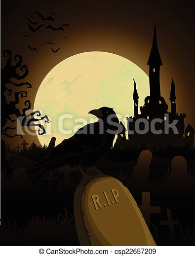 Antecedentes de Halloween - csp22657209