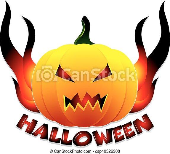 Antecedentes de Halloween - csp40526308