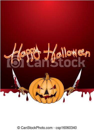 De Halloween - csp16060340