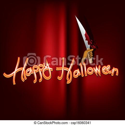 De Halloween - csp16060341