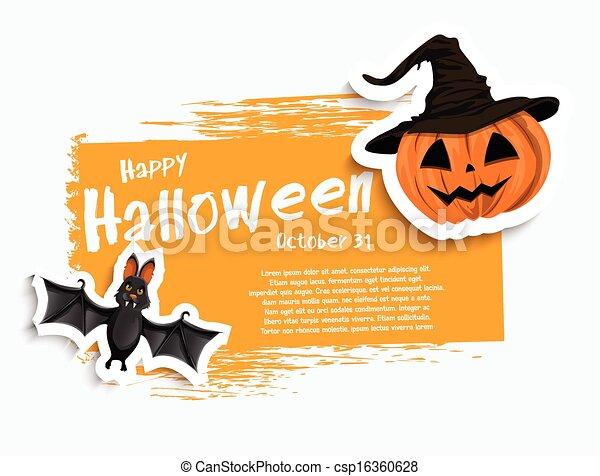 De Halloween - csp16360628
