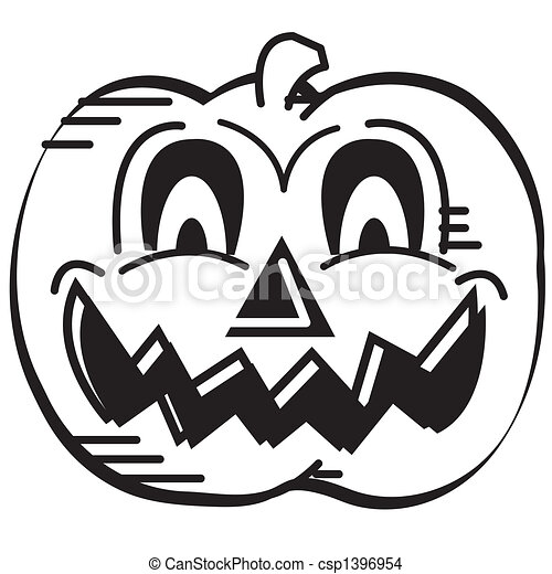 Halloween Pumpkin Face Clip Art Halloween Pumpkin Face Or Eps