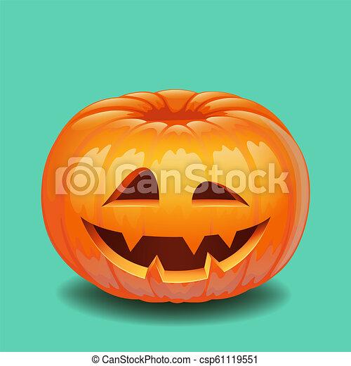 Creepy Halloween Pumpkin Drawings.Halloween Pumpkin Face Creepy Smile Jack O Lantern