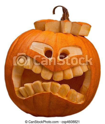 halloween pumpkin - csp4608821