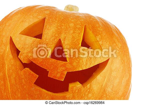 Halloween pumpkin - csp16269984