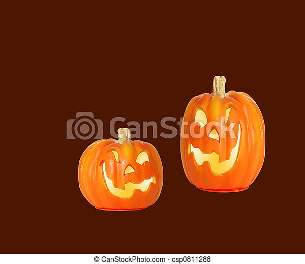 Halloween Pumpkins - csp0811288