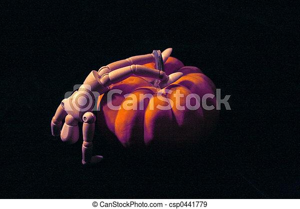 Halloween Scene - csp0441779
