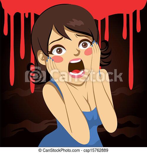 Girl scream orgasm