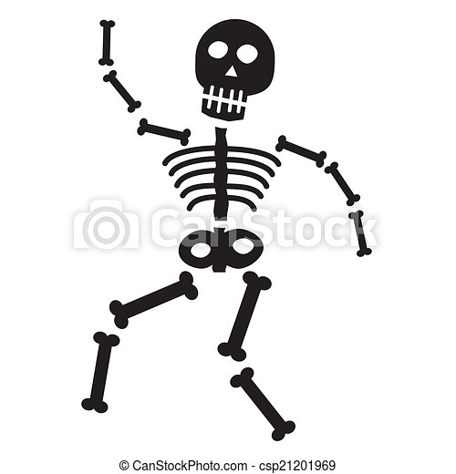 happy halloween skeleton bones clip art vector search drawings and rh canstockphoto com skeleton clipart free skeleton clip art free