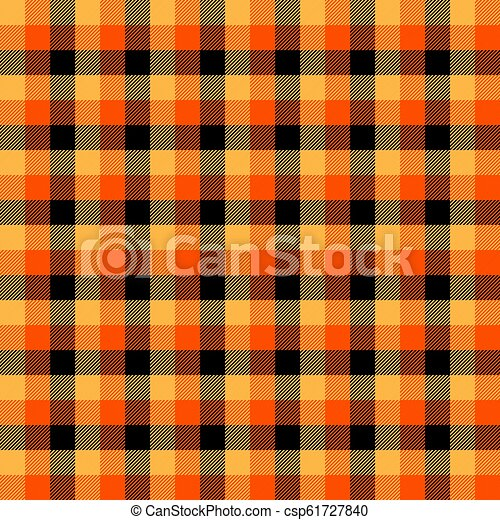 f107578e86 Halloween tartan plaid. scottish cage background. Halloween tartan ...