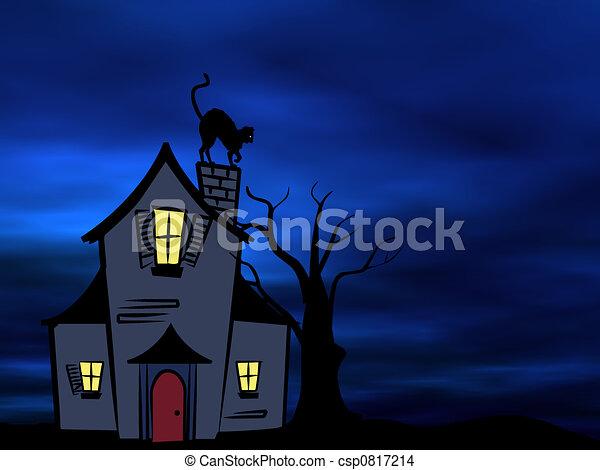 Halloween theme - csp0817214