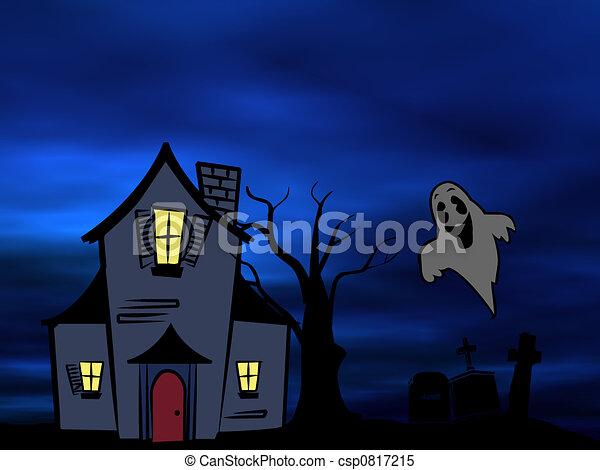 Halloween theme - csp0817215