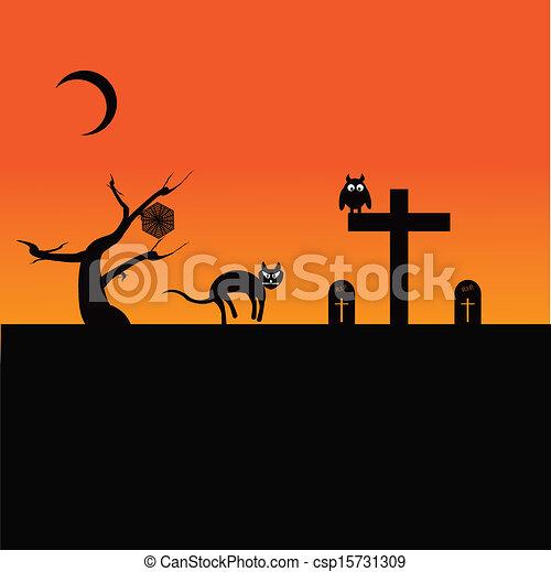 Halloween Theme - csp15731309