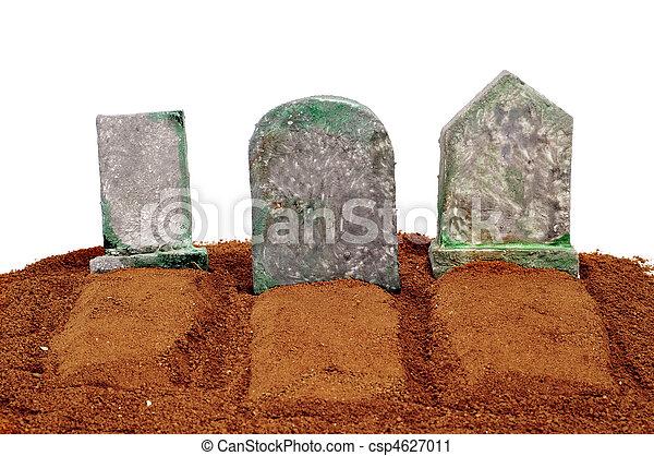 halloween, tombes - csp4627011
