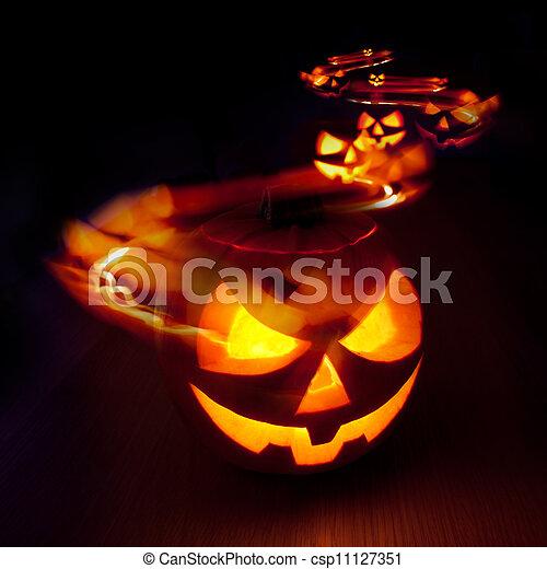 Halloween Trails - csp11127351