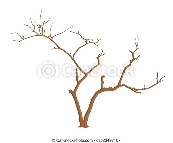halloween tree branches vector abstract retro spooky halloween dead