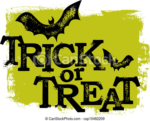 Halloween Trick or Treat - csp10482209