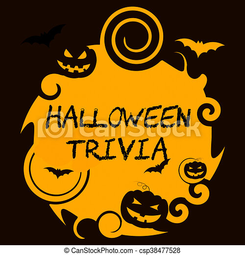 Halloween trivia shows trick or treat and autumn. Halloween ...