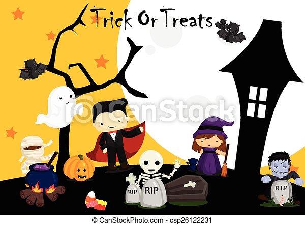 Halloween - csp26122231