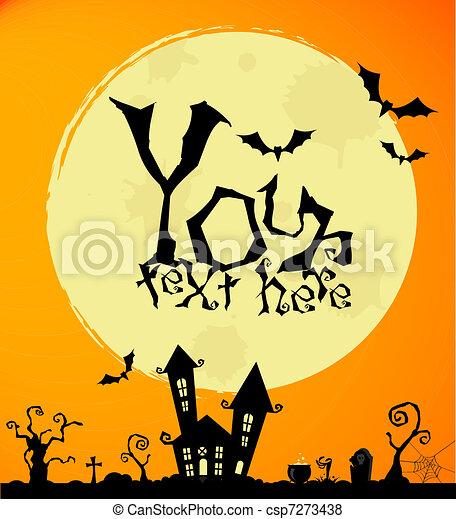 halloween - csp7273438