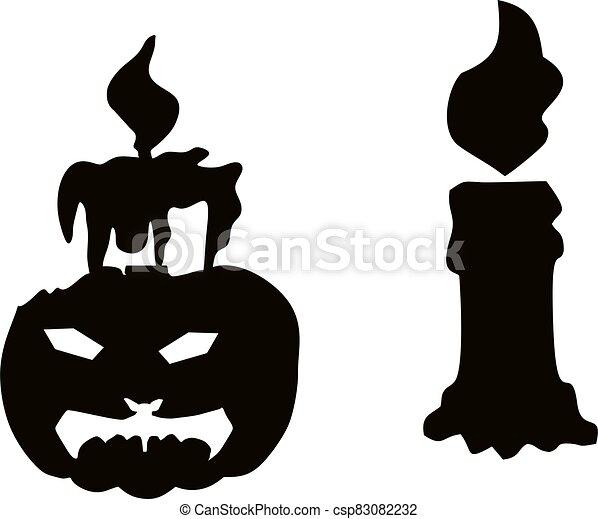 Halloween_Candle.eps - csp83082232