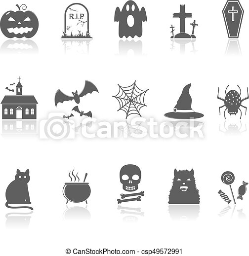 Hallowen Icons - csp49572991