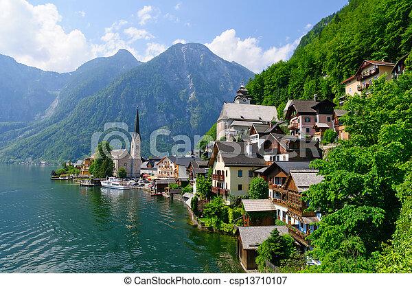 Hallstatt, Austria - csp13710107