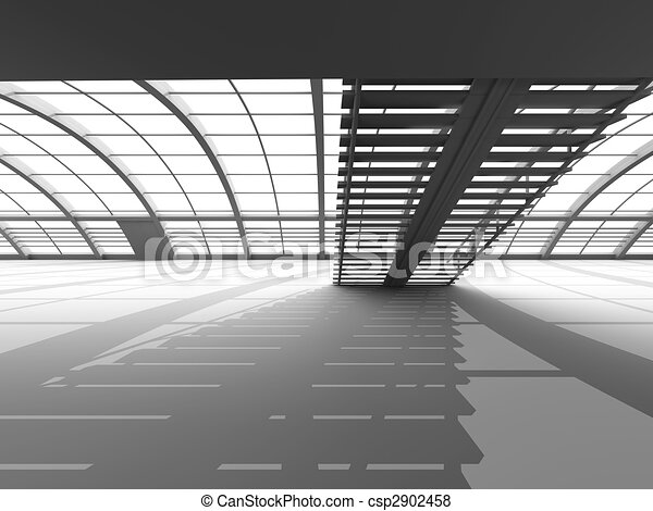hallway, architectuur - csp2902458