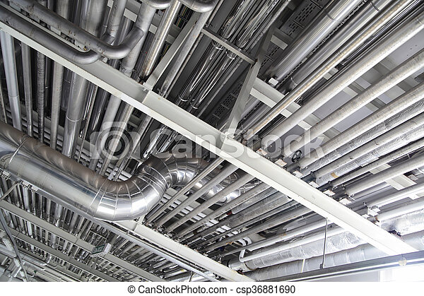 halmok, acél, csővezetékek - csp36881690