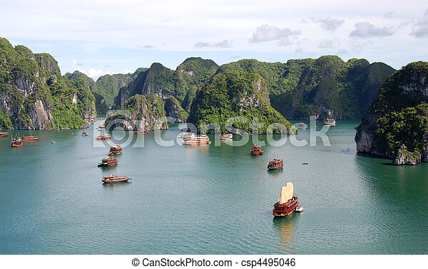 Halong Bay Vietnam - csp4495046