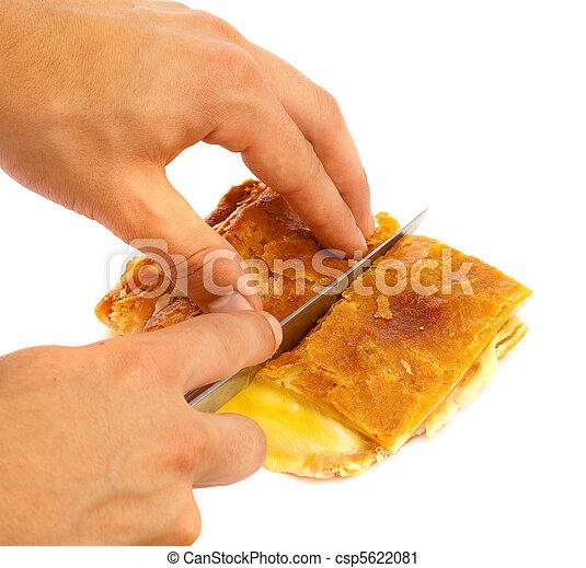 ham and cheese - csp5622081