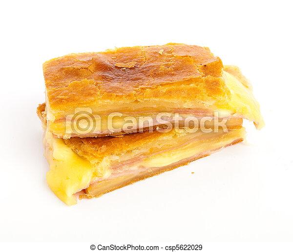 ham and cheese - csp5622029