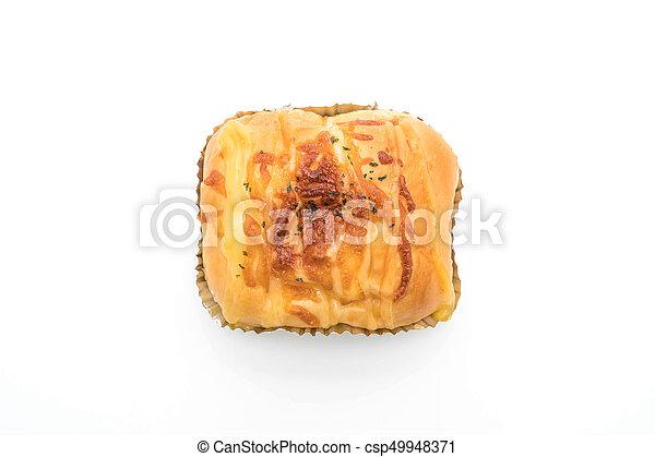 ham cheese bun - csp49948371