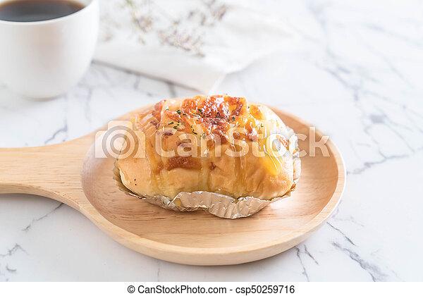 ham cheese bun - csp50259716