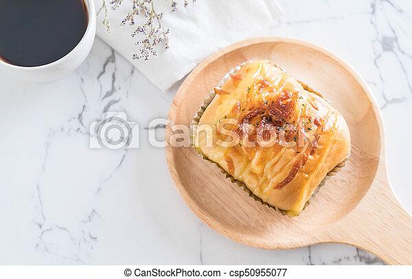 ham cheese bun - csp50955077