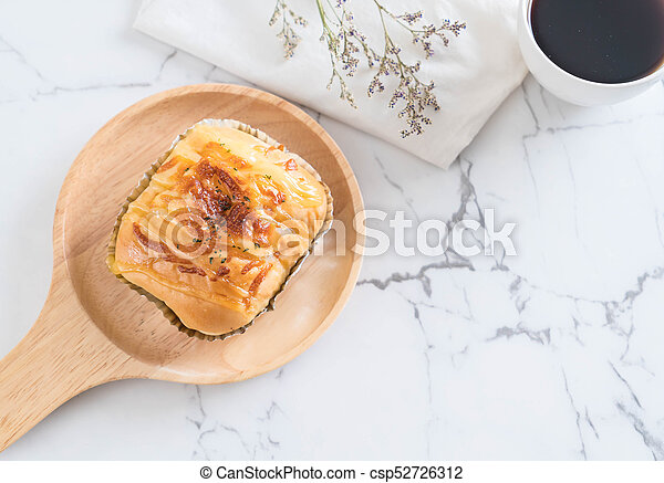 ham cheese bun - csp52726312
