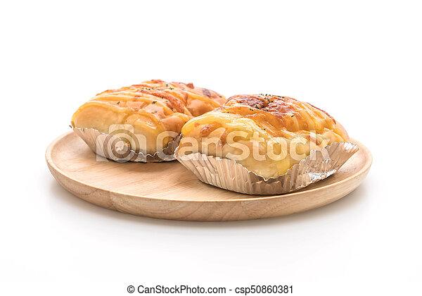 ham cheese bun - csp50860381