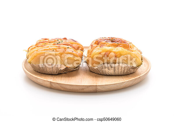 ham cheese bun - csp50649060