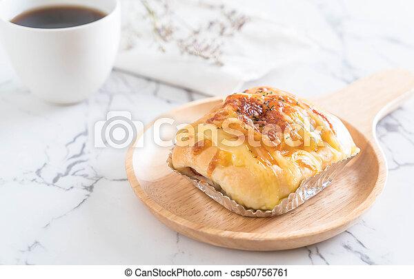 ham cheese bun - csp50756761