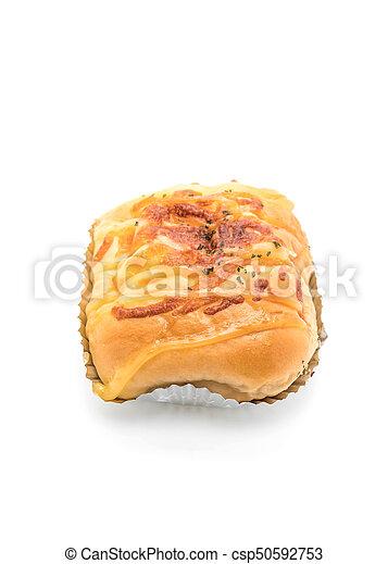 ham cheese bun - csp50592753