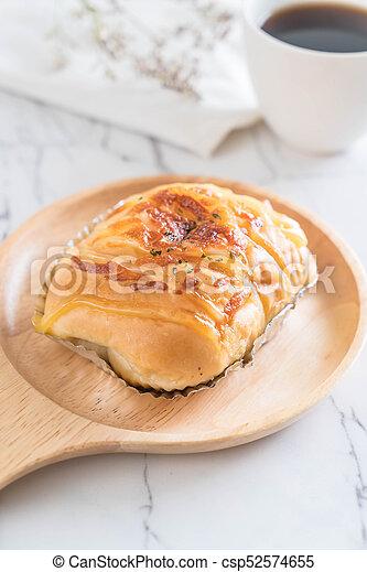 ham cheese bun - csp52574655
