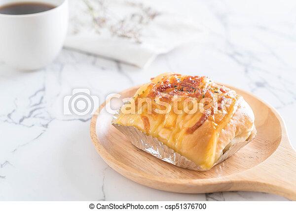 ham cheese bun - csp51376700