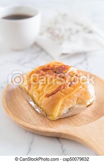 ham cheese bun - csp50079632