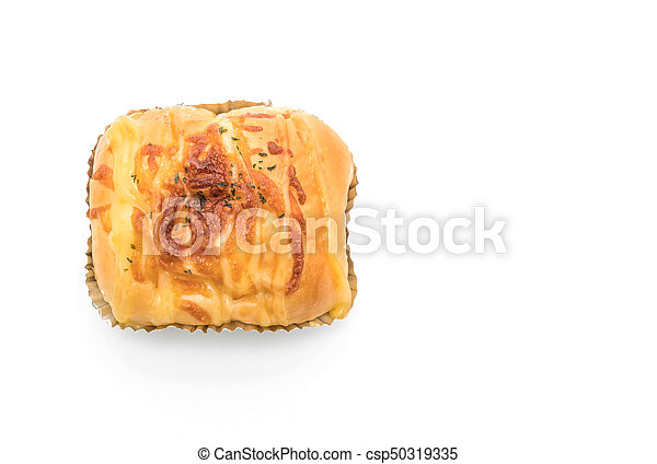 ham cheese bun - csp50319335