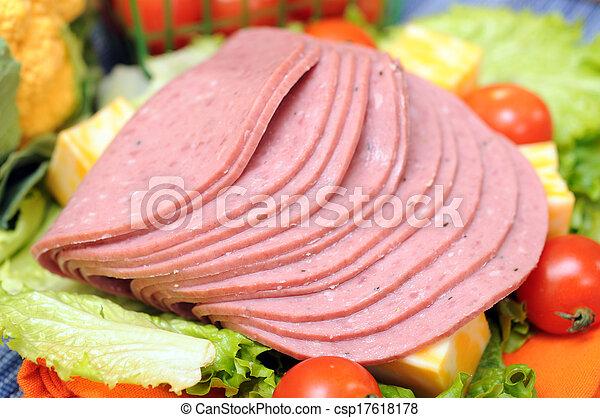 ham, cheese - csp17618178