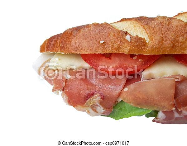 Ham sandwich - csp0971017