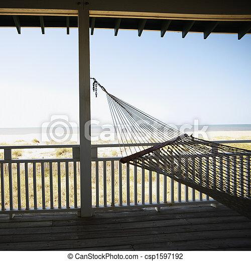 hamac, porch. - csp1597192